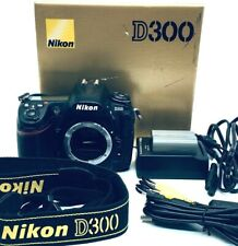 Nikon D300 DX 12.3MP Digital SLR Camera Body w/BOX#112709