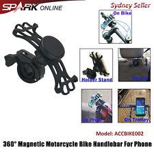Bicycle Bike Motorcycle Pram Magnetic Handlebar Mount Holder Stand For Phone GPS