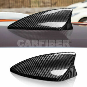 Real Carbon Fiber Car Roof Shark Fin Antenna Cover For BMW Mini Cooper F55 F56