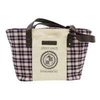 Women Small Fashion Canvas Plaid Tote Bag Purse Shoulder Handbag Messenger Bag