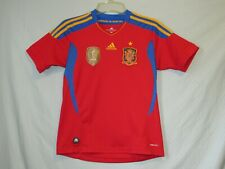 Adidas ClimaCool Spain 2010 FIFA World Champions Jersey Shirt Youth  Excellent+