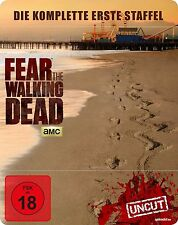 FEAR THE WALKING DEAD Steelbook COMPLETO TEMPORADA Serie de TV BLU-RAY Caja