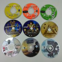 Lot of 5 Misc Computer PC - Various Games - Shooter Action Genres - Lot #06