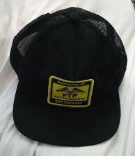 453cd7001e6 PROTECTED BY FTP BLACK CAP HAT F CK THE POPULATION RARE SUPREME HUF TRUCKER