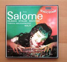 MET 228-9 Strauss Salome Nilsson Stolze Wachter Solti DECCA 2xLP NEAR MINT Mono