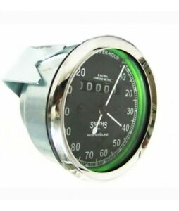Fit For Smiths Speedometer 0-120 Mph For Royal Enfield Bullet Replica