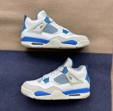 Nike Air Jordan IV 4 Retro OG 2012 Military Blue Mens Size 10.5 308497-105 Rare