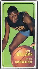 "1970-71  RON WILLIAMS - Topps ""Tall Boy""  Basketball Card # 8 - S.F. Warriors"