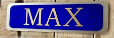Traditional Stable Plaque Acrylic with Name Only Many Fonts And Colours Plaques1