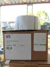 1 Case of 1676 Tec Sl-66-30 Sl-6600 6 Line Bar code Scale Labels 16 Roll 400 per