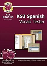 KS3 Spanish Interactive Vocab Tester - DVD-ROM and Vocab Book by Richard Parsons
