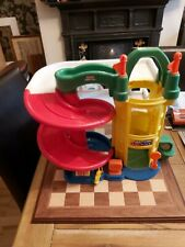 Fisher Price Little People Plastic Multi Coloured Toy Garage Circa 2006