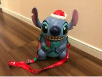 Disney Stitch Christmas version popcorn bucket limited JAPAN Tokyo Disneyland