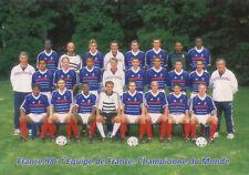 Carte Postale *** Equipe / Team * Equipe De France - Championne du Monde / 1998