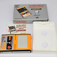 Nintendo Game & Watch Snoopy CGL Panorama Screen SM-91 1983 LCD Handheld and