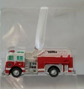 Hallmark Christmas Holiday  Ornament Tonka Fire Truck 2020 NEW