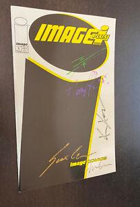 IMAGE PLUS #1 (1993) -- SIGNED X 5 -- Miki / Rapmund / Chiodo / Clark + -- B