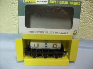 6-Wheel Milk Wagon 'United Diaries' Wrenn No W4657 '00' V. Light Use, Repro Box