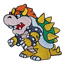 Bowser Patch Badge (3 Inch) Super Mario World All Stars Kart Costume Patches