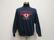 Vtg 90s Midwest Embroidery Indiana Hoosiers Crewneck Sweatshirt sz M Medium