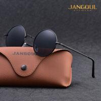 Vintage Polarized John Lennon Sunglasses Hippie Retro Round Mirrored Glasses G
