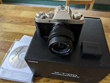 Kamera fujifilm xt 100 inkl. Objektiv XC15-45mm und Zubehör