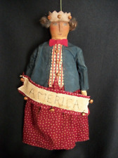 Pattern, Primitive folk art doll,18 in. Americana, by Dumplinragamuffin #93