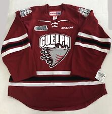 New Authentic Pro Stock CCM Guelph Storm OHL Hockey Player Jersey Size 54 7287