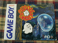 Bubble Ghost - Authentic - Nintendo Game Boy - GB - Manual Only!