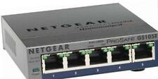 NETGEAR GS105E-200UKS ProSAFE 5 Port Web Managed (Plus) Gigabit Ethernet Switch
