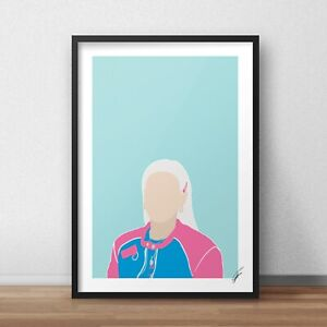 Anne-Marie INSPIRED WALL ART Print / Poster Minimal A4 A3 2002, Ciao Adios