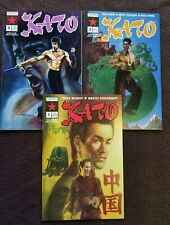 KATO GREEN HORNET BRUCE LEE 1-3 NOW COMICS 1991 RUN SET 1 2 3 COMICS TOTAL