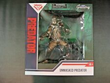 Unmasked Predator Diamond Select Toys Gallery Diorama Statue PX Preview New