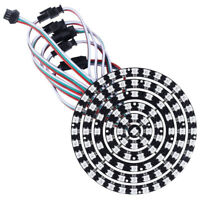 WS2812B RGB LED Round Panel Individually Addressable Full-Color Point Control