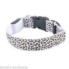 Dog LED Luminous Collar Pet Adjustable Nylon Safety Flashing Light Neck Strap