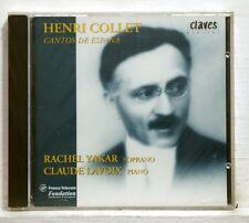 RACHEL YAKAR - HENRI COLLET cantos de espana CLAVES CD STILL SEALED