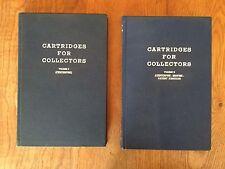 Cartridges For Collectors Vol. I & II - #184/2,000 RARE COLLECTOR Fred A. Datig
