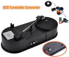 Mini USB Turntable Converter Phonograph LP Vinyl Record Player to MP3/WAV/CD/PC