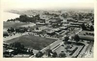 Aerial View 1940s Portland Washington Ellis RPPC real photo postcard 2571