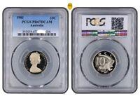 1981 Australia Ten Cent, 10c PCGS - PR67DCAM - 048