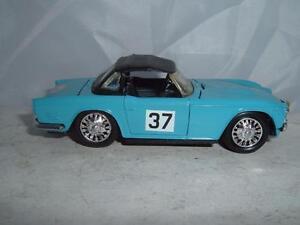 ELIGOR TRIUMPH TR5 1964 MONTE CARLO RALLYE SCALE 1/43 VINTAGE UNBOXED SEE PICS !