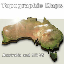 V5 Topo Maps of Australia & NZ FOR YOUR Garmin Nuvi Streetpilot zumo Topographic