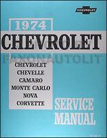 1970 - 1974 CHEVROLET CHEVELLE EL CAMINO MONTE CARLO ...