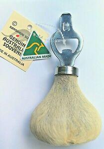 Kangaroo Scrotum Bottle Opener Australian Made