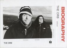 Orb - Oblivion 2000 Press Kit +Photo