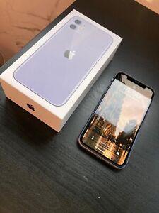 Apple iPhone 11 - 64GB - Purple (Unlocked) A2111 (CDMA + GSM) (CA)
