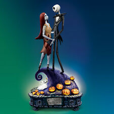 Simply Meant To Be Nightmare Before Christmas Musical Figurine Bradford Exchange