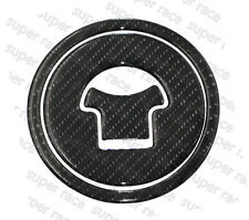 3D Carbon Fiber Gas Cap Tank Cover Pad Sticker For HONDA MSX125 2013-2014 Hi-Q