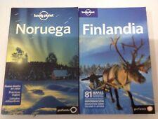 Guías Lonely Planet Noruega edición 2011+ Finlandia edición 2009