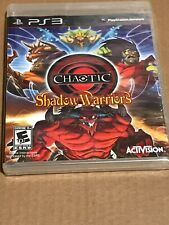 Chaotic Shadow Warriors PS3 (PlayStation 3) NEW